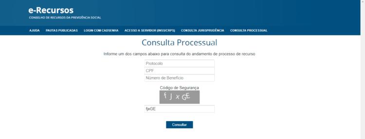 Consulta Processo INSS Justiça Federal
