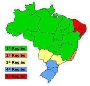 Região Justiça Federal